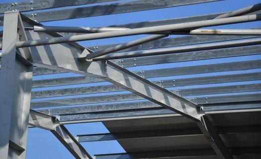 Nosné ocelové konstrukce Olomouc, výroba svařenců, opracování, lakování a montáž