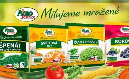 Agro Jesenice, výroba mražené zeleniny, mražené zeleninové směsi pro gastro, houby, zelenina