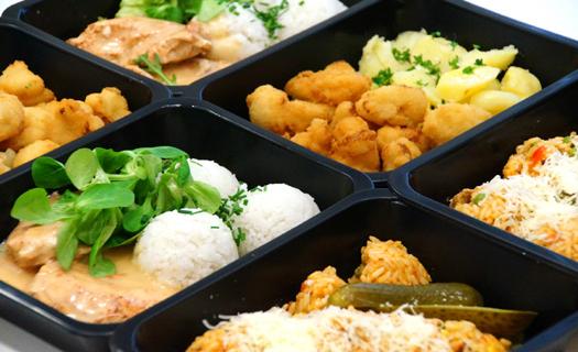 Obědy s sebou jednoduše převezete, uskladníte i ohřejete.