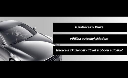 Pobočky po celé Praze.