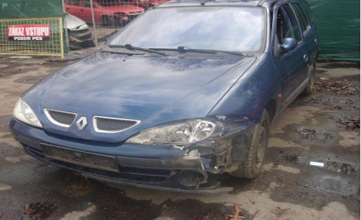 Použité náhradní autodíly na autovrakovišti v Kunovicích.
