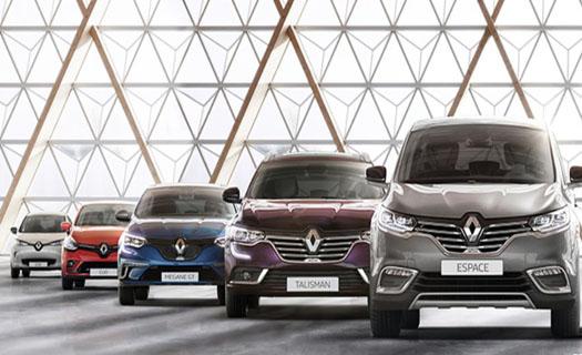 Nabízíme nové vozy značek Renault a Dacia
