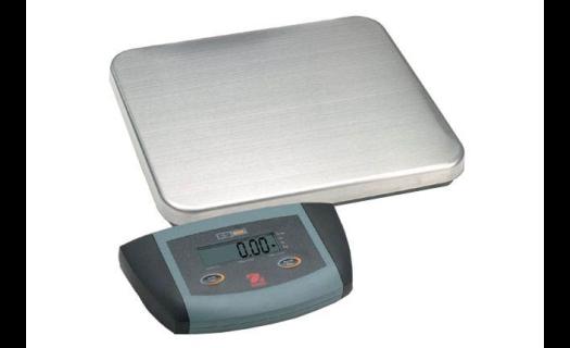 Nabízíme také plošinové váhy do 300 kg, které najdou své využití při vážení potravin