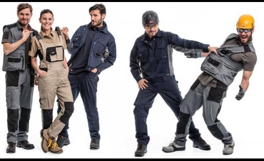 Oděv, který garantuje volnost a maximální pohodlí při práci.