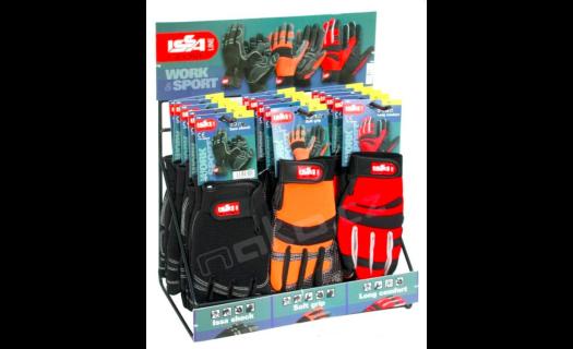 Kvalitní pracovní rukavice ISSA LINE.