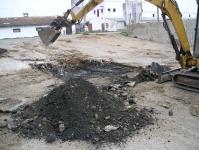 Zemní, výkopové a přípravné práce pro stavby - hloubení