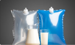 Recyklovatelné Bag-in-Boxy (BiB) do mléčných automatů - sáčky pro sterilní balení mléka