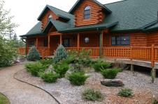 Odvětrané dřevěné fasády z kvalitního dřeva na domy a chalupy