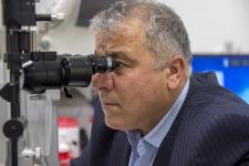 Kompletní vyšetření zraku, měření refrakce oka a nitroočního tlaku