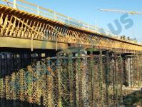 Bednicí příhradové ramenáty, betonářské bednění – ramenáty pro mostní konstrukce