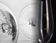 Skleničky s potiskem, pískování, gravírování, potisk skla, nosičky skleniček