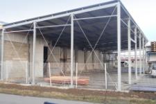 Výroba ocelových konstrukcí, montáž a opláštění hal – Zlínský a Jihomoravský kraj