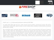 E-shop s produkty pro hasiče a záchranáře