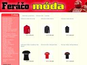 Ferrari m�da - zna�kov� oble�en� Ferrari