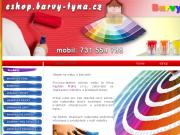 Malířské barvy a příslušenství E-shop