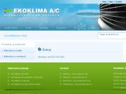 Oficiální eshop firmy Produkty a sortiment klimatizací