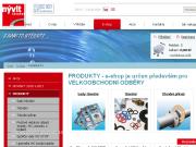 Oficiální eshop firmy Velkoobchodní prodej produktů z pryže