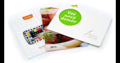 Výroba prospektů a brožur Praha – od grafického návrhu po tisk