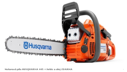 Motorové pily Husqvarna, typ - benzínové motorové pily, prodej i zaškolení