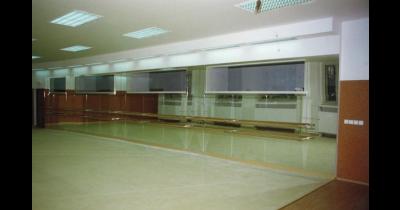 Zrcadla pro taneční sály, posilovny a tělocvičny Praha - včetně truhlářského vyrovnání stěny