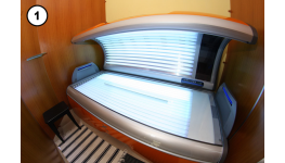 Horizontální i vertikální solárium - zdravé a bezpečné opálení na vynikajících strojích