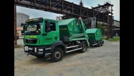 Kontejnerová autodoprava, odvoz a likvidace odpadu, pronájem kontejnerů