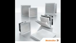 Filtrační ventilátory pro chlazení rozvaděčů - Weidmüller ventilátor s filtrem pro vnitřní, venkovní použití