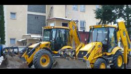 Opravy, servis a repase stavební a zemědělské techniky JCB a Hyundai