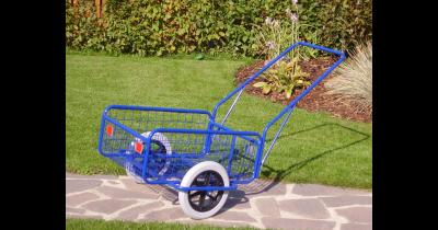 Pořiďte si ruční vozík, květinový stojan nebo vozítko pro děti formou tříkolky od firmy Kovodružstvo