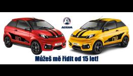 Prodej nových automobilů i pro patnáctileté, nabídka ojetých vozů