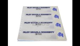 Výroba a tisk lístků a vstupenek s ochrannými prvky proti kopírování, různé druhy papíru