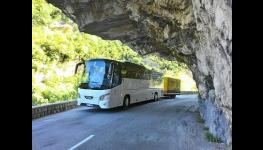 Komfortní zájezdová autobusová přeprava a doprava na dovolenou