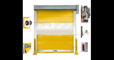 Výroba rychloběžných rolovacích průmyslových vrat Králův Dvůr -  40 tisíc vyrobených vrat na 4 kontinentech