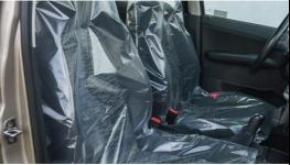 Ochranné polyetylénové povlaky autosedadel fólie na auto sedadla