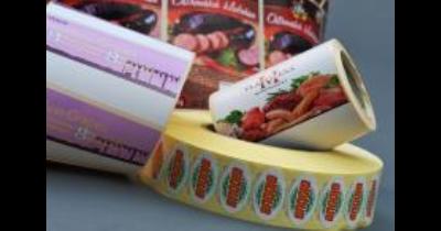 Tisk samolepicích etiket Kolín - etikety pro potravinářství, strojírenství i textilní průmysl