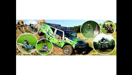 Adrenalinové sporty - jízda v terénu vozem Hummer H1, H2