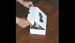 Vzduchové polštářky pro ochranu zboží v krabicích
