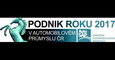 Vítěz 20. ročníku soutěže pořádané AutoSAP - Podnik roku 2017 v automobilovém průmyslu