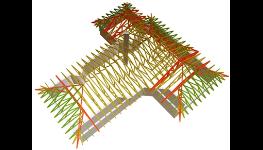 Certifikované vazníky, konstrukce pro střechy, tesařské konstrukce