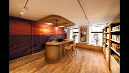 Designové obkladové desky STEPWOOD, lamely z masivního dřeva
