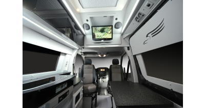 Obytné vestavby do automobilů Mercedes Benz Sprinter, Volkswagen Crafter