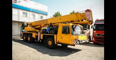 Jeřábnické práce, autojeřáby, hydraulická ruka