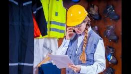 Ochranné pracovní pomůcky pro sluch, zrak, dýchací cesty, práci ve výškách