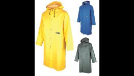 Pracovní oděvy – bundy, trička, mikiny, kalhoty, výstražné a nepromokavé oděvy