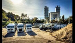 Prodej betonu a betonových směsí, spedice, autodoprava