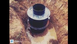 Kruhové a hranaté plastové septiky k předčišťování odpadní vody