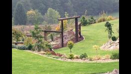 Koupací, okrasná jezírka, vodní prvky, zahradní potůčky Zlínský kraj