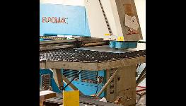 Děrovací lis Euromac MTX pro vysekávání dílů z plechu
