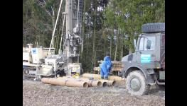 Kopání, vrtání a výstavba studní, vrtané studny, rozbory vody