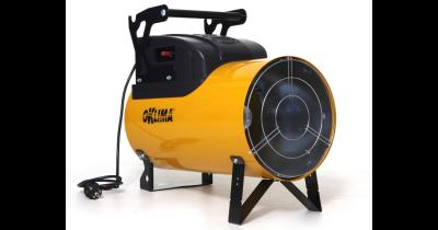 Teplovzdušná topidla, závěsné podávací ventilátory, doplňky a příslušenství